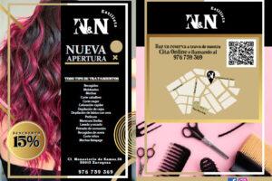N y N Peluquería – Diseño, impresión y reparto de flyers
